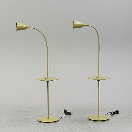 Niclas hoflin, a pair of 'arkipelag' floor lamps for ruben 2005.