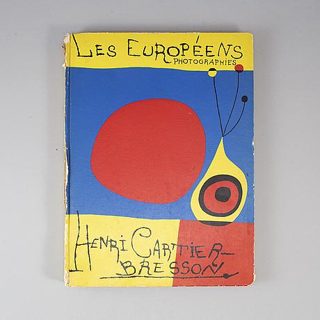 Henri cartier-bresson, 'les européens'.