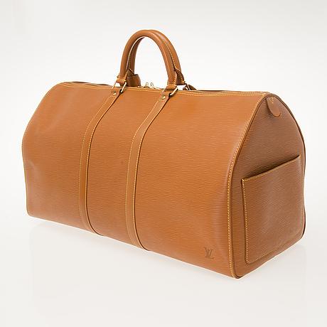 "Louis vuitton, ""keepall epi"", väska."
