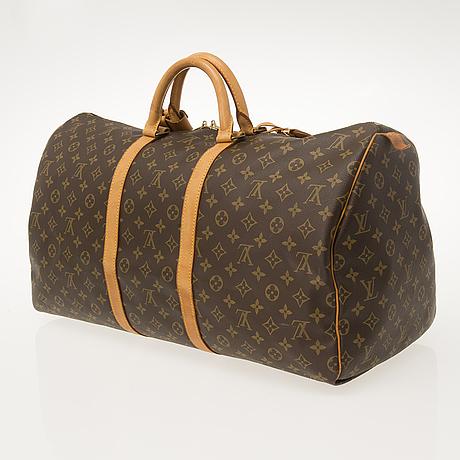 Louis vuitton, keepall 55, väska.