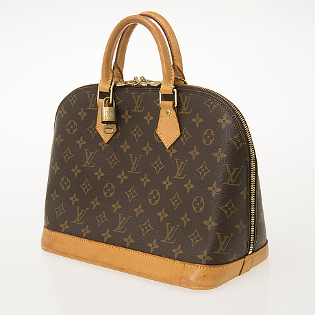 "Louis vuitton, ""alma"", handbag."