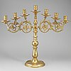 A seven-light candelabra, 20th ct.