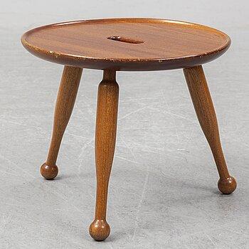 A mahogny stool, model 2156, by Josef Frank for Firma Svenskt Tenn.