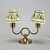 Josef frank, bordslampa, mässing, modell 2483, för firma svenskt tenn.