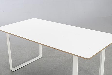 "Table,""70/70"" taf studio for muuto, 21st century."