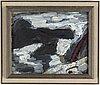 Staffan hallstrÖm, oil/tempera on canvas, signed sh.
