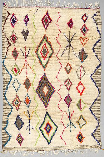 A rug, morocco, ca 224 x 151 cm.