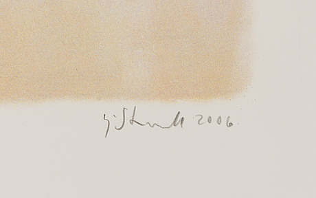 Kaj stenvall, lithograph, signed and dated 2006, numbered 3/195.