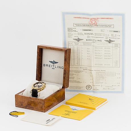 Breitling, chronomat, chronometer, armbandsur, kronograf, armbandsur, 40,5 mm.
