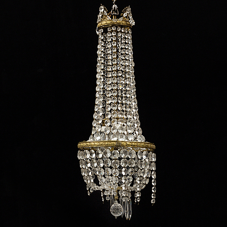 A ca 1900 ceiling light.