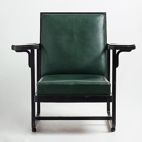 Carl bergsten, an armchair, by gemla leksaksfabrik diö, for the exhibition in norrköping sweden 1906.