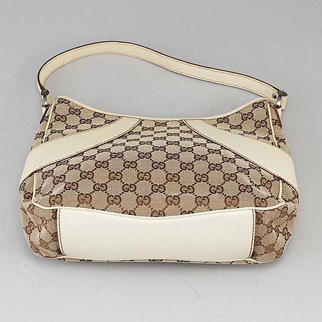 Gucci, 'guccissima jacquard shoulder bag'.