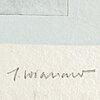 James coignard, carborundum etching, signed 51/60.