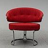 Grete jalk, an easy chair from fritz hansen, denmark 1960s'/70's.