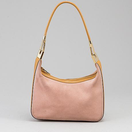 Gucci, 'suede shoulder bag'.