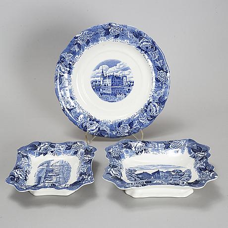 A 'skåne' part dinner and coffee service, rörstrand (1915-48). (89 pieces).