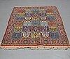 A rug, semi-antique qum, ca 202 x 140 cm.