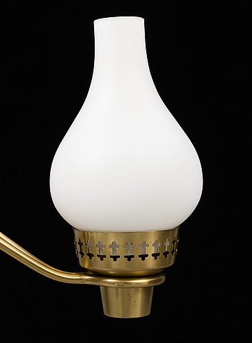 A mid 20th century ceiling light and  a wall light.