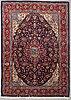 A carpet, sarouk, ca 313 x 213 cm.