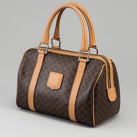 """CÉline, väska, """"macadam boston bag""""."""