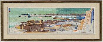 AXEL OLSON, oil oln canvas, signed.