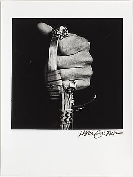 HANS GEDDA, photograph signed and numbered 1/5.