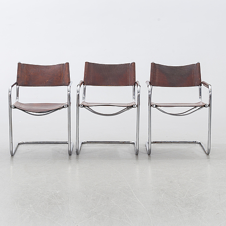 4+2 chairs, second half of the 20th century, likely italy.