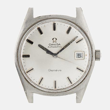 Omega, genève, armbandsur, 34,5 mm.