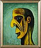 Paavo sarelli, oil on board, signed and dated -76.
