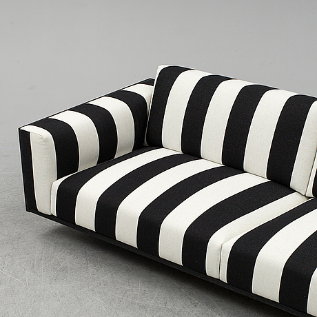 A 'wood' sofa by monica förster, swedese.