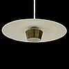 Sigvard bernadotte, a model 't-21' ceiling lamp from bergboms.