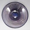 Jan-erik ritzman, a unique glass bowl, transjö, sweden 1986.