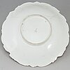 A meissen porcelain bowl, germany, 20th century.