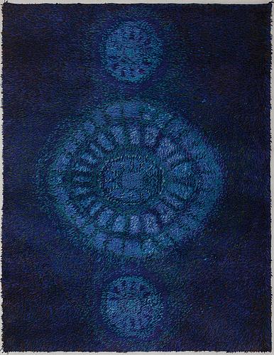 A finnish rya-rug for oy finnrya ab. ca. 177x136 cm.