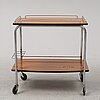A serving trolley, second half of the 20th century.