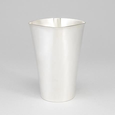 Vera ferngren, a silver beaker, gab, stockholm 1965.
