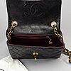 A 'mini flap' chanel bag, 1994-1996.
