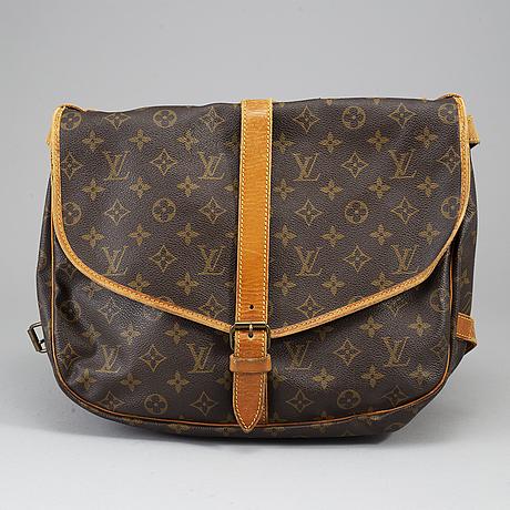 Louis vuitton, väska, 'saumur 35'.