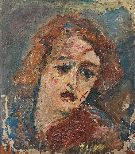 Jean egger, portrait of signe.