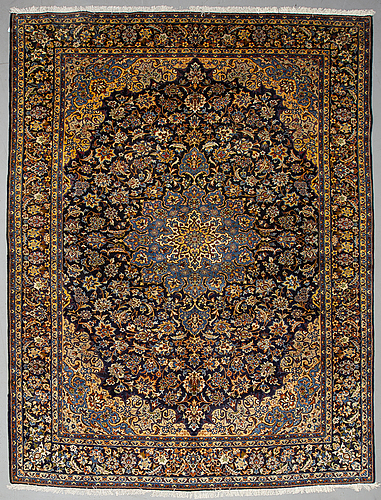 A carpet, najafabad, ca 376 x 288 cm.