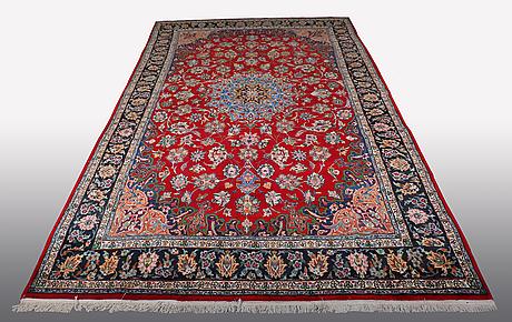 A carpet, najafabad 454 x 258 cm.