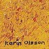 Karin olsson, olja på duk, signerad.
