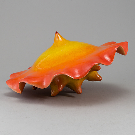 Tina reuterberg, a stoneware sculpture, unsigned.