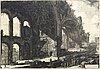 Giovanni battista piranesi, etching.