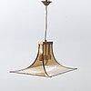A ceiling light, esperia, italy, second half of the 20th century.