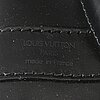 Louis vuitton, a 'randonne' black epi bag.