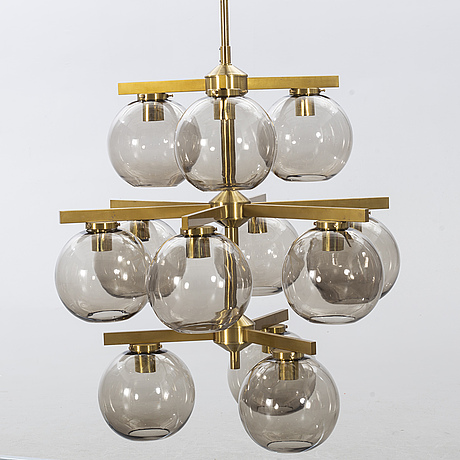 Holger johansson, ceiling light, westal, bankeryd, likely 1960's.