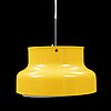 A second half of the 20th century 'bumling' ceiling lamp by abder pehrson, ateljé lyktan.