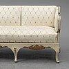 An early 20th century rococo revival sofa.