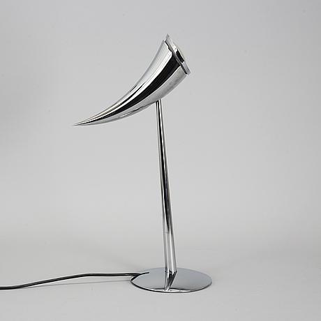 A philippe starck 'ara' table lamp, flos, italy.